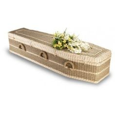 Pandanus Imperial (Traditional Style). The Natural Choice  I have never seen a casket basket...wow!
