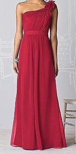 Bridesmaid After Six Dress in Red Size 10