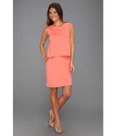 Suzi Chin for Maggy Boutique Sleeveless Pop Top Dress