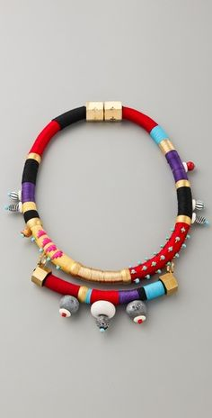 Holst + Lee  Collar with Stones
