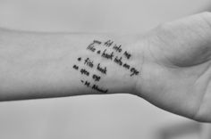 This is my third tattoo and the first one in pure words. It's a poem by Margaret Atwood. After reading the poem for the first time back in college, I knew I would have it tattooed on me someday. (photo by keith dador) Feminine Tattoos, Unique Tattoos, Cool Tattoos, Just Ink, Literary Tattoos, Margaret Atwood, A Hook, Get A Tattoo, Body Mods