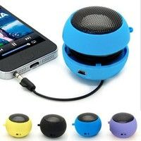Mini Hamburger Speaker Amplifier Audio Player For Phone iPod Tablet Laptop PC Product Features: 1.