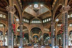 Basilica de Nuestra Señora de Los Angeles in Cartago, Costa Rica.Most Beautiful Church Ceilings Photos   Architectural Digest
