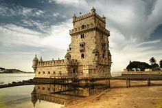 Belém Tower      Portugal's fortified tower is a little piece of the past, set on the Lisbon shore.