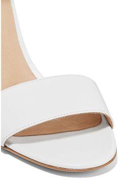 Gabriela Hearst - Sydney Leather Wedge Sandals - Off-white - IT36.5