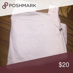 White Jeans Abercrombie & Fitch white jeans Abercrombie & Fitch Jeans
