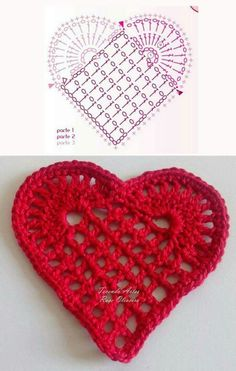Crochet Stitches Free, Granny Square Crochet Pattern, Crochet Chart, Knit Crochet, Applique Patterns, Crochet Patterns, New Years Decorations, Yarn Projects, Christmas And New Year