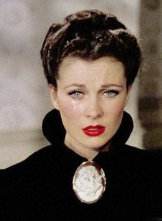 """Vivien Leigh as Scarlett O'Hara Butler after Melanie's death and Rhett has walked out in 'Gone With The Wind'. """"Oh, I can't let him go! I can't! There must be some way to bring him back. I can't think about this now. I'll go crazy if I do! I'll think about it tomorrow."""""""
