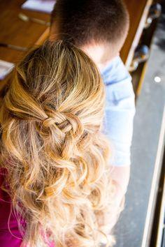 Solie Design Photography #seattlebridehair #hair #makeup #hmua #mua #onsite #engagement #love #braid #celticknot