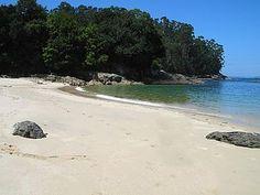 Playa de Cobelo en Bueu