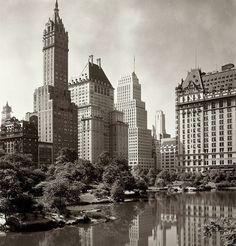 Vintage New York, central park