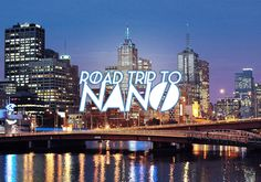 Road Trip to NaNo: Fill Every Space with Creativity