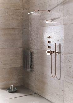 'La sensazione di una doccia all'aperto'