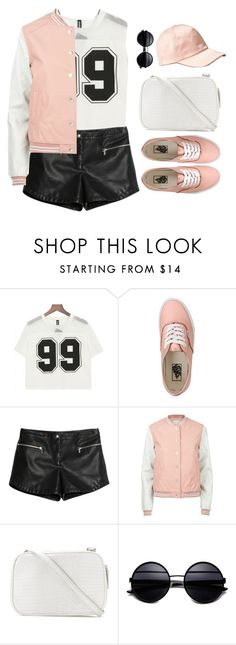 """""""The Big Game"""" by sweetpastelady ❤ liked on Polyvore featuring Vans, MANGO, H&M, women's clothing, women's fashion, women, female, woman, misses and juniors"""