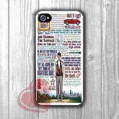 Ferris Bueller art quote collage -sndh for iPhone 4/4S/5/5S/5C/6/ 6+,samsung S3/S4/S5,samsung note 3/4