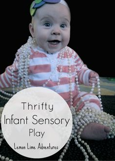 Thrifty Sensory Play from Lemon Lime Adventures- Must Try This!
