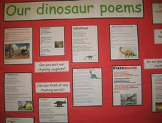 Primary school children show off their knowledge about dinosaurs as they study prehistoric animals as part of a term topic.