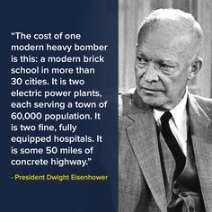 This was in the 1950's, think what you could build today. Or of course you could give one tax break to a kochsucker.