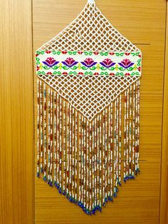 Nazarlık Diy And Crafts, Arts And Crafts, Loom Beading, Preschool Activities, Dream Catcher, Projects To Try, Crafty, Beads, Handmade