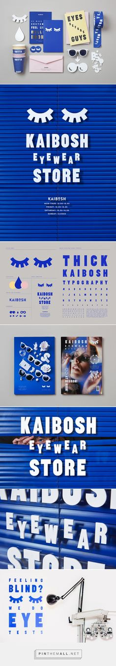 Snask designs a new identity for Norwegian eyewear company Kaibosh - created via https://pinthemall.net