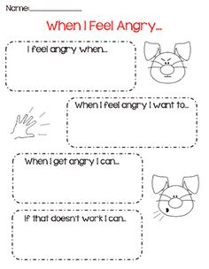 When I Feel Angry...