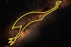The Emu in the Sky stretches across the Milky Way.