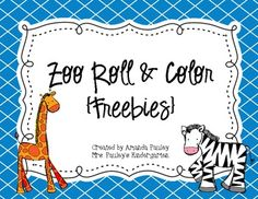 Tomorrow is Earth Day. I plan on doing a one day mini-unit on Earth Day. I will, of course, be using my Taking Care of the Earth Emergent . Zoo Activities Preschool, Free Preschool, Preschool Activities, Zoo Crafts, Dear Zoo, Kids Zoo, Emergent Readers, Jungle Theme, School Themes