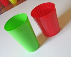 Capacity lesson with two similar /misleading cups. Great tips for open ended activity Measurement Kindergarten, Measurement Activities, Kindergarten Projects, Math Measurement, Kindergarten Math, Math Activities, Capacity Activities, Math Classroom, Infant Classroom