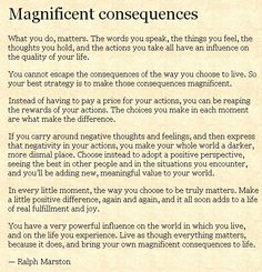 Magnificent consequences