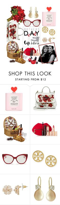 """""""Like Mother, Like Daughter"""" by streetglamour on Polyvore featuring Dolce&Gabbana, Charlotte Tilbury, Chanel, Miu Miu, Tory Burch and mothersdaygiftguide"""