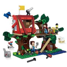 49.56$  Watch now - http://alif11.shopchina.info/1/go.php?t=32814605774 - 3in1 461pcs My World The Village Compatible Legoed Minecrafted Model building blocks Educational action figures children toys 08 49.56$ #shopstyle