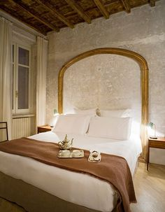 See how a 17th-century townhouse in Rome was transformed into a chic hotel