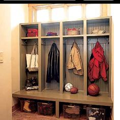 Mud Room... Coat Nook