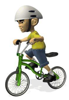 """Desgarga gratis los mejores gifs animados de bicicletas. Imágenes animadas de bicicletas y más gifs animados como buenas noches, gracias, animales o nombres"""""""