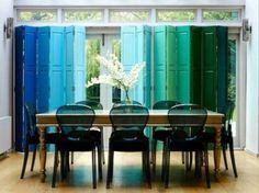 Reciclar puertas viejas: fotos ideas DIY