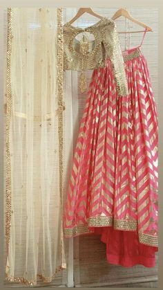 35+ Gota Patti Lehengas Every Bride Should give a glance at!