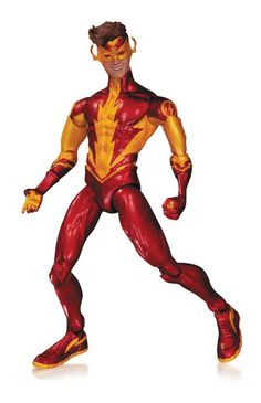 DC Comics The New 52 Teen Titans Action Figure Kid Flash - The Movie Store