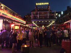 Dinerama / Street Feast Shoreditch: über hip Street Food market in Shoreditch, simply great!!!