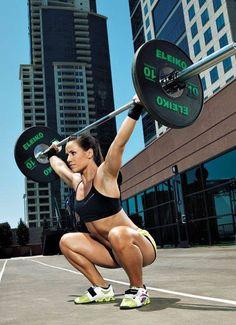 5 Sentadillas que te darán unos glúteos de acero Fit Girl Motivation, Fitness Motivation, Squats, Crossfit, Gym Equipment, Sign, People, Workout, Fit Motivation