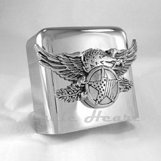 EAGLE WITH STAR HORN COVER