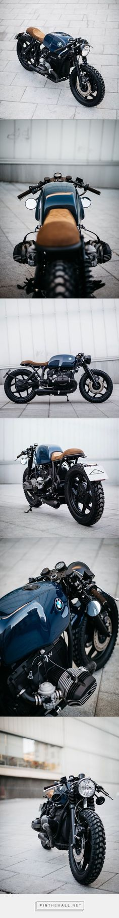 ROA Motorcycles BMW R80 [CFCM] Motor Cafe Racer, Bmw Cafe Racer, Cafe Racer Style, Custom Cafe Racer, Cafe Bike, Moto Cafe, Motos Harley, Cafe Racing, Custom Motorcycles