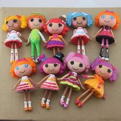 Lot 9 Different Lalaloopsy Mini Doll Series 6 7 Figure Splatter Splash M227   eBay