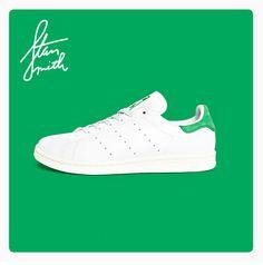 adidas Stan Smith: Green/White