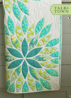 Sea Glass Queen Quilt by talkottown on Etsy https://www.etsy.com/listing/271329751/sea-glass-queen-quilt