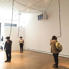 Seeing with the Body at a Virtual-Reality Art Show                                                                                                                                                                                 More