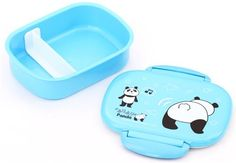 blue Furi Furi dancing panda lacquer Bento Box lunch box Prime Nakamura