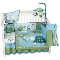 Shop buybuy BABY for a fantastic selection of baby merchandise including strollers, car seats, baby nursery furniture, crib bedding, diaper bags and much more… Turtle Baby Rooms, Turtle Nursery, Baby Turtles, Sea Turtles, Crib Sets, Everything Baby, Nursery Themes, Having A Baby, Baby Love