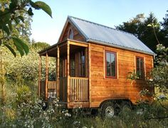 How Much Does a Tiny House Really Cost?What to Spend on a Micro Home >Tumbleweed-tiny-house-micro-cabin Buy A Tiny House, Tiny House Company, Tiny Houses For Sale, Tiny House Plans, Tiny House On Wheels, Small Houses, Outside Playhouse, Build A Playhouse, Indoor Playhouse