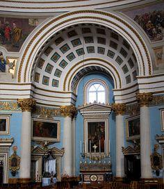 Mosta church, Malta by martin97uk, via Flickr