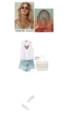 """I'm back"" by blueeyed-dreamer ❤ liked on Polyvore featuring Banana Republic, T By Alexander Wang, Charlotte Russe, Lizzy James and Vans"